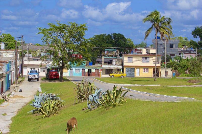 Vie di Santa Clara, Cuba immagini stock