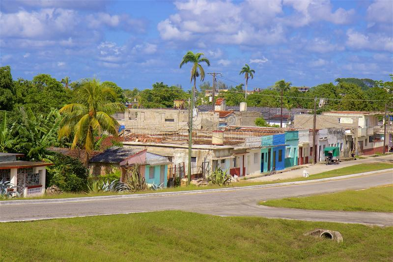 Vie di Santa Clara, Cuba fotografia stock libera da diritti