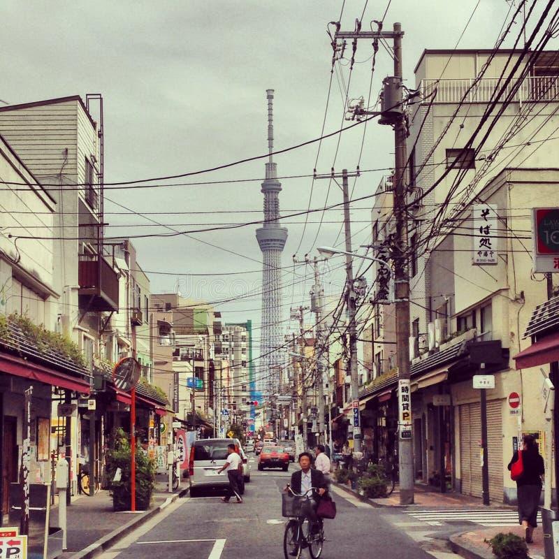 Vie di Tokyo immagini stock libere da diritti