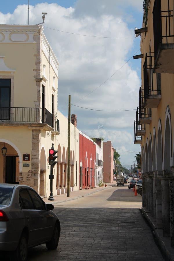 Vie di Valladolid fotografie stock