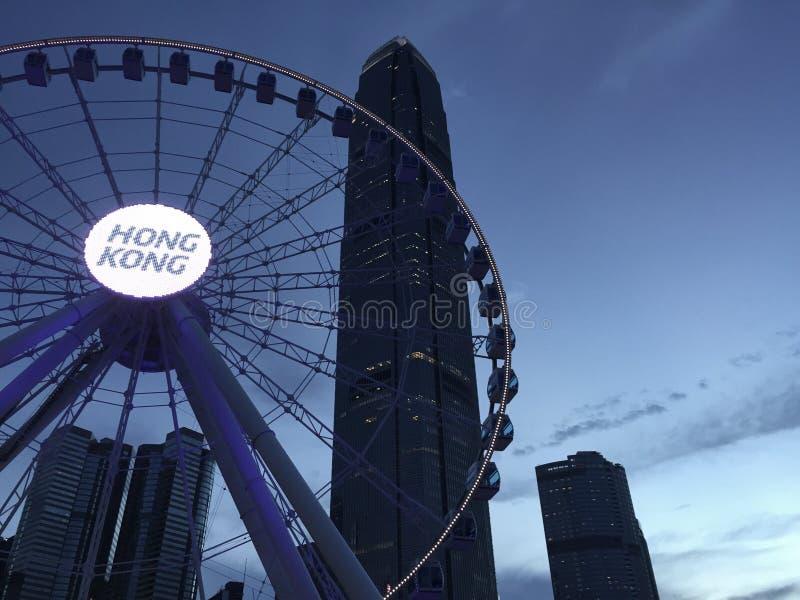 Vie nocturne de Hong Kong photos stock