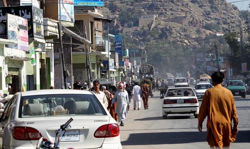 Vie Quotidienne Du Pakistan Image éditorial