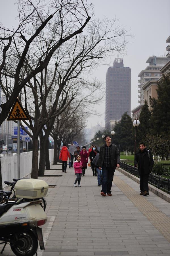 Vie quotidienne - Pékin, Chine photos libres de droits