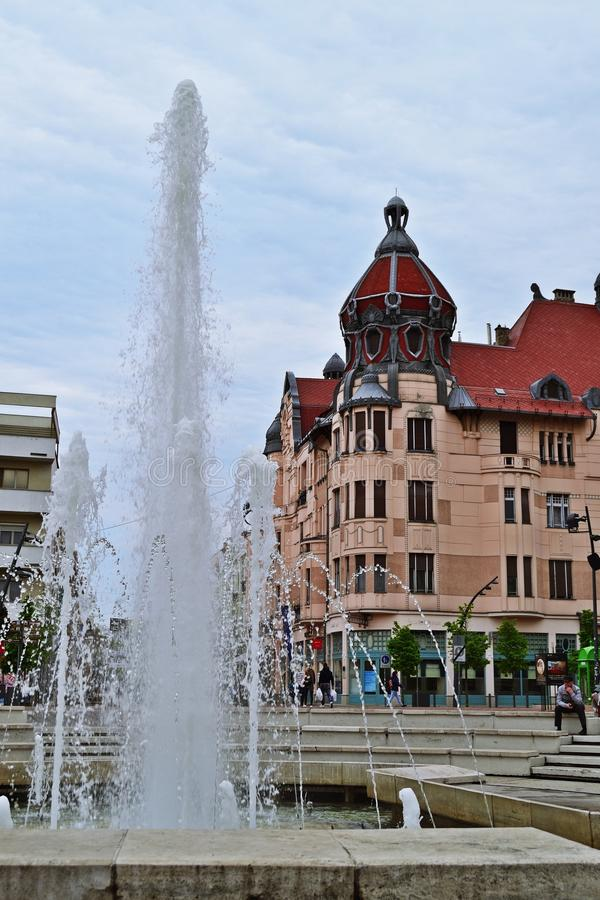 Vie in Seghedino, Ungheria immagini stock libere da diritti
