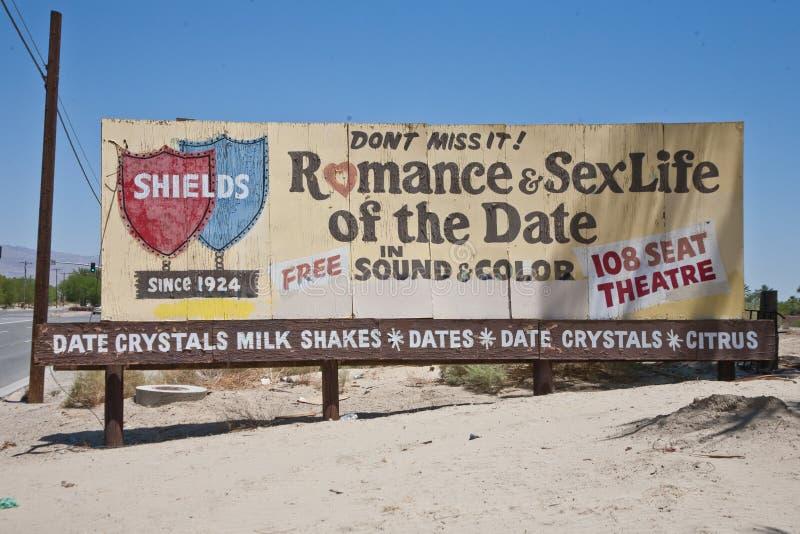 Vie sexuelle Romance et des dattes images libres de droits