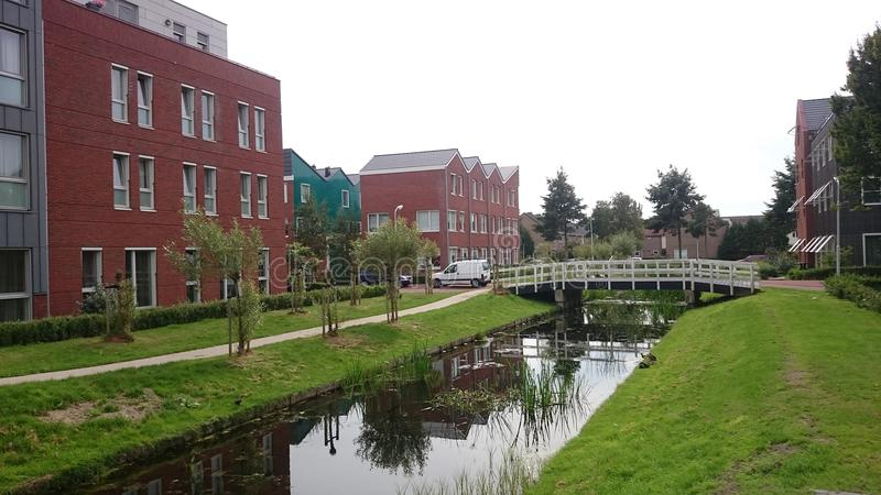 Vie typique aux Pays-Bas photos stock