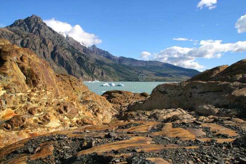viedma ледника стоковое изображение rf