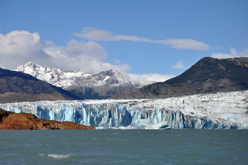 Viedma Glacier - Patagonia, Argentina. Beautiful Viedma glacier in Patagonia, Argentina, from Viedma lake royalty free stock photo