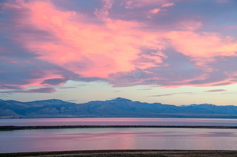 Viedma jezioro w Patagonia, El Chalten, Argentyna zdjęcia royalty free