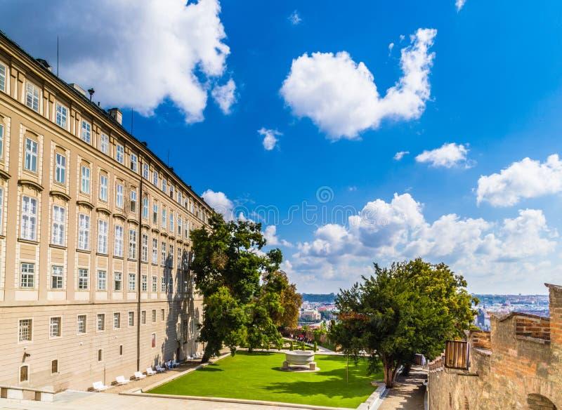 Vief de Praga do castelo, hrad de Prazsky imagem de stock royalty free