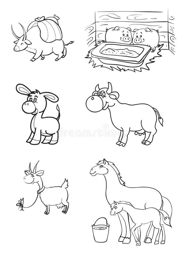 Vieh lizenzfreie abbildung