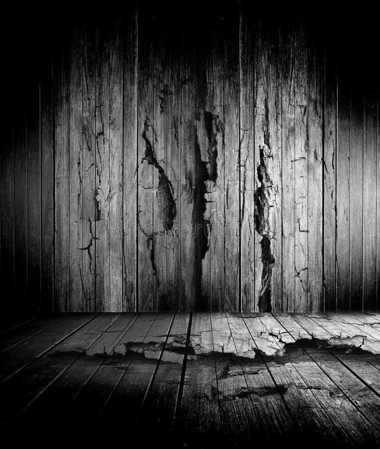 Vieil étage en bois illustration libre de droits