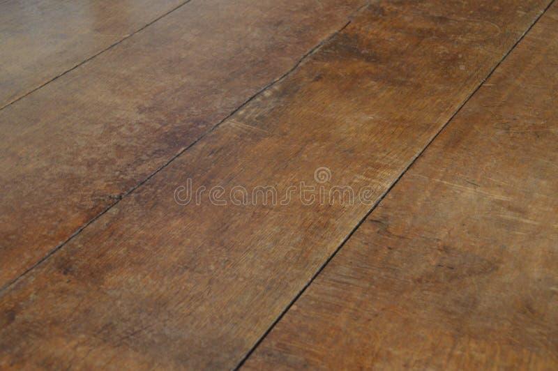 Vieil étage en bois images libres de droits