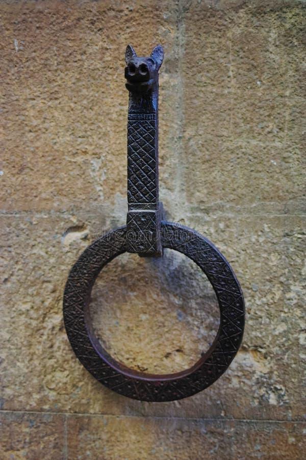 Vieil anneau de cheval photo libre de droits