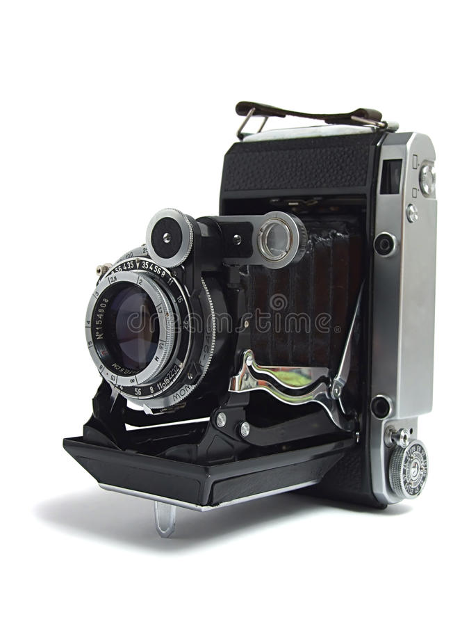 Vieil appareil-photo antique photo libre de droits