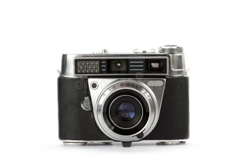 Vieil appareil-photo de cru de télémètre images libres de droits