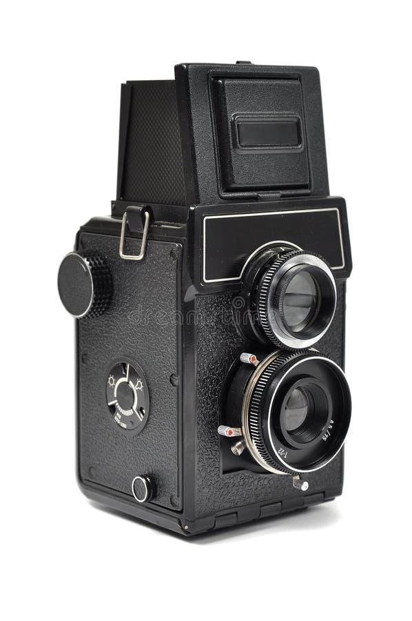 Vieil appareil-photo de moyen-format image libre de droits