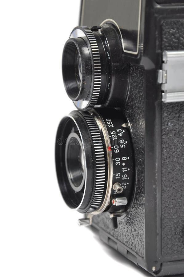 Vieil appareil-photo de moyen-format image stock