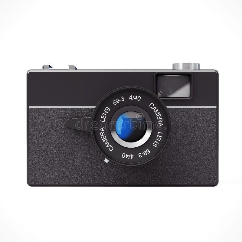 Vieil appareil-photo de photo de cru rendu 3d illustration libre de droits