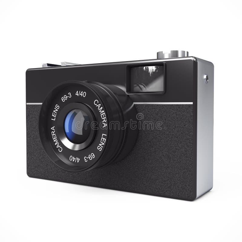 Vieil appareil-photo de photo de cru rendu 3d illustration stock