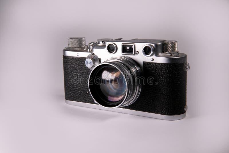 Vieil appareil-photo de télémètre photo libre de droits