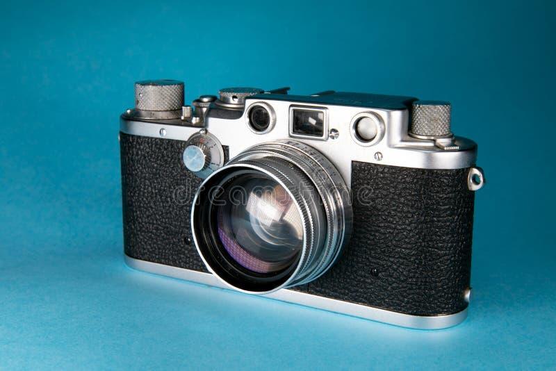 Vieil appareil-photo de télémètre photo stock