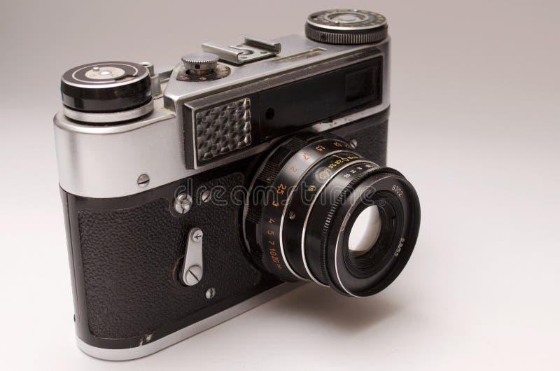Vieil appareil-photo de télémètre images libres de droits