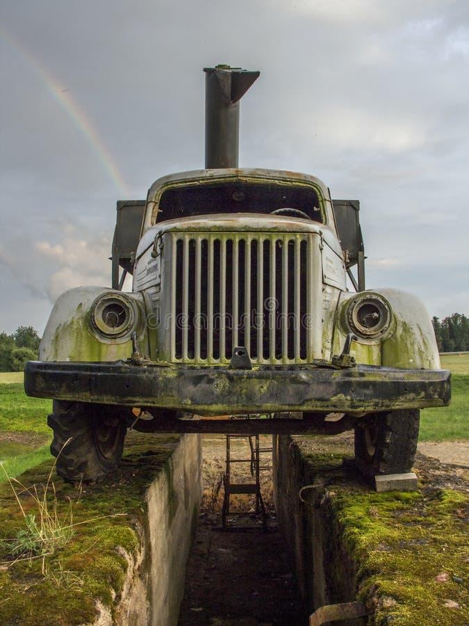 Vieil avant de camion photos libres de droits
