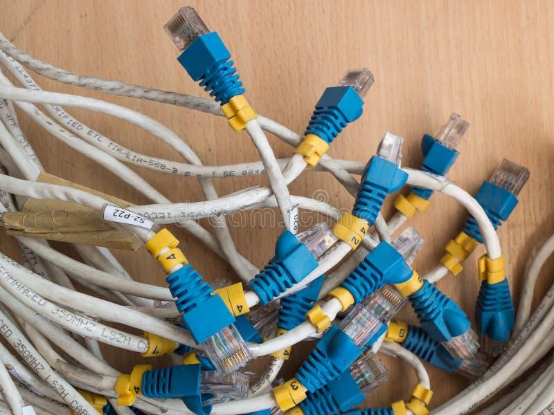Vieil Ethernet photo stock