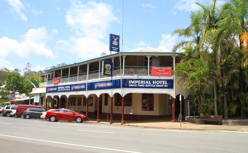 Vieil hôtel australien photo stock