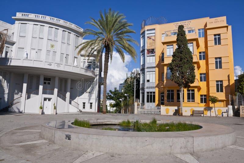 Vieil hôtel de ville de Tel Aviv photo libre de droits