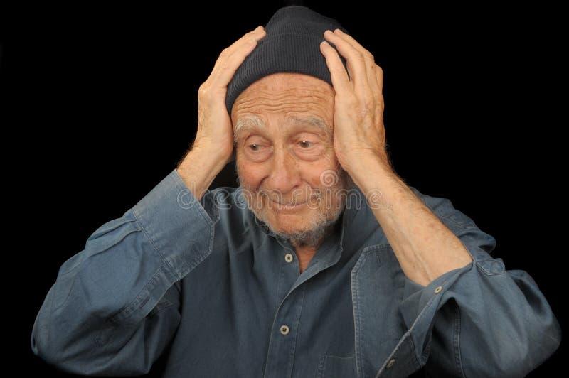 Vieil homme photo libre de droits