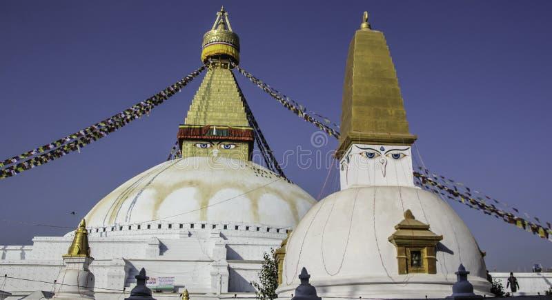 Vieil homme du Népal photos stock