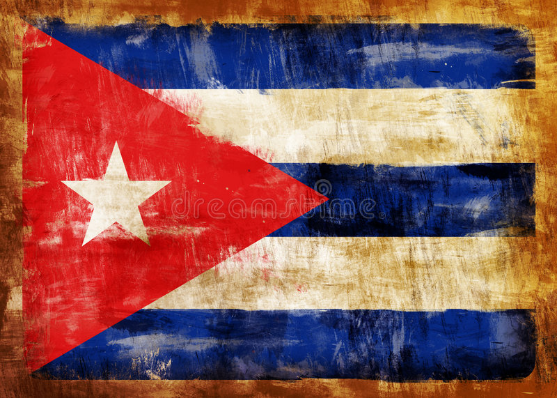 Vieil indicateur peint du CUBA