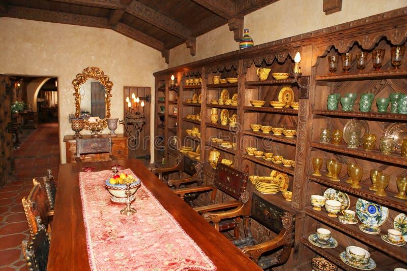 Vieil intérieur antique photos stock