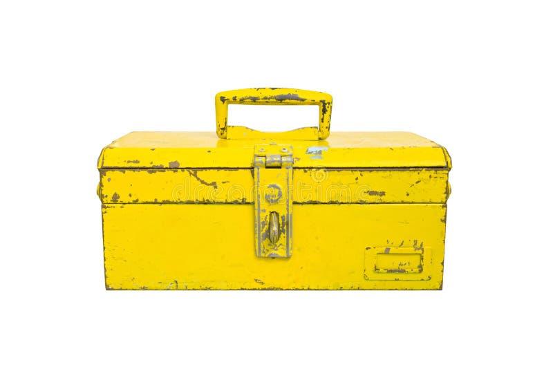 Vieil isolat de boîte à outils photo libre de droits