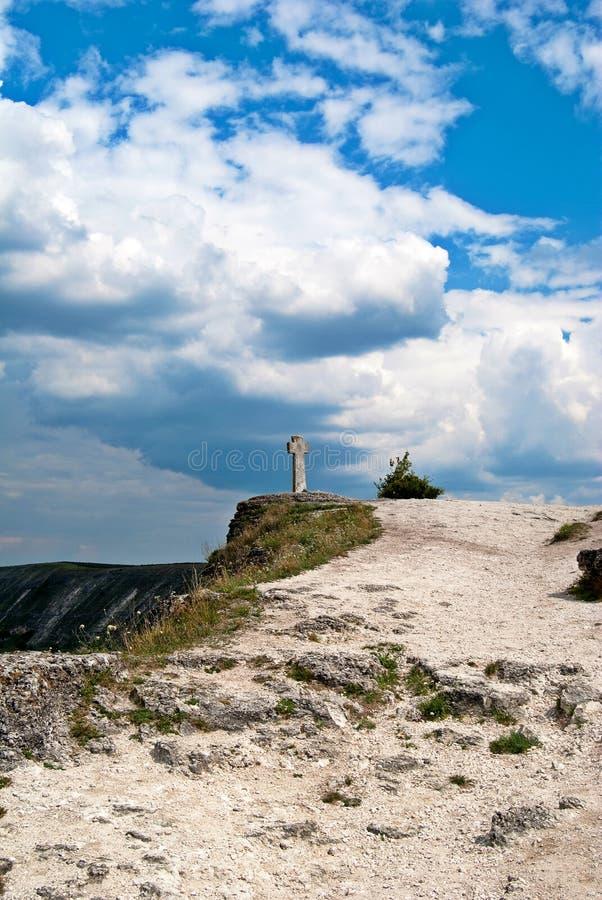 Vieil Orhei, Moldau photo libre de droits