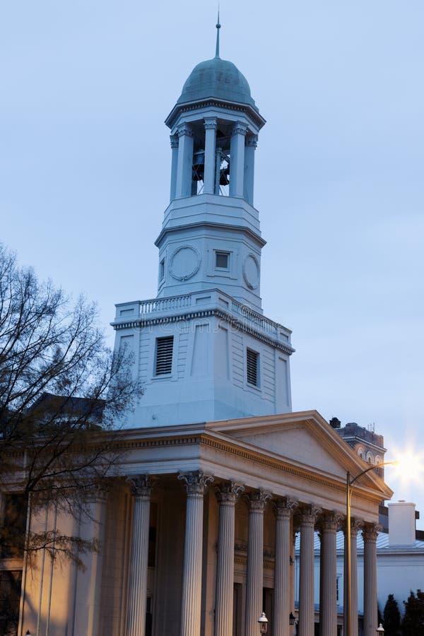 Vieille église à Richmond photographie stock