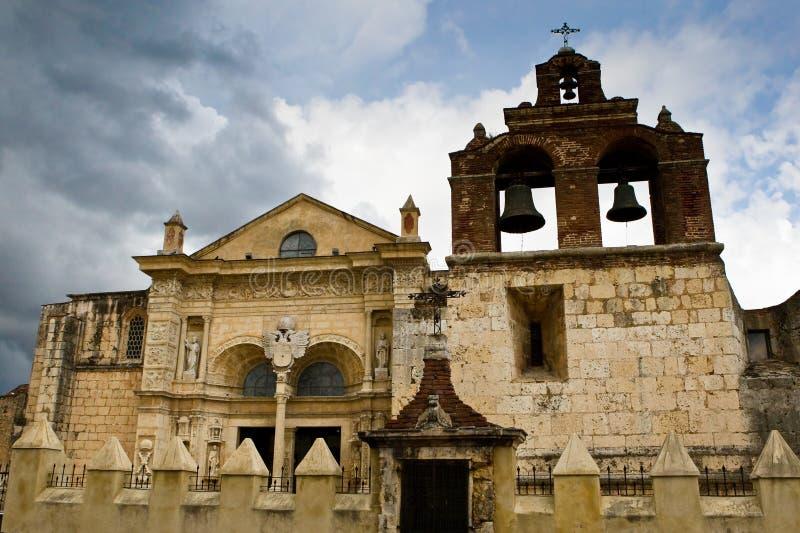Vieille église à Santo Domingo image stock