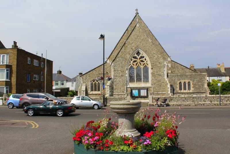 Vieille église anglaise images stock