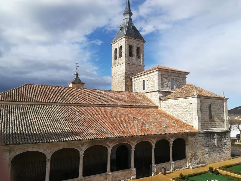 Vieille église catholique Torres photographie stock