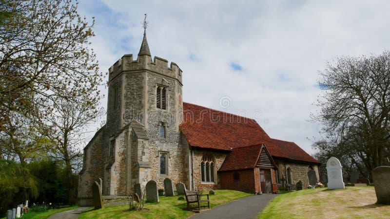 Vieille église dans le pays image libre de droits
