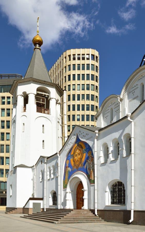 Vieille église de croyants de Saint-Nicolas image stock
