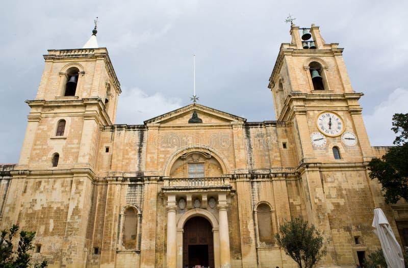 Vieille église de Malte photographie stock libre de droits