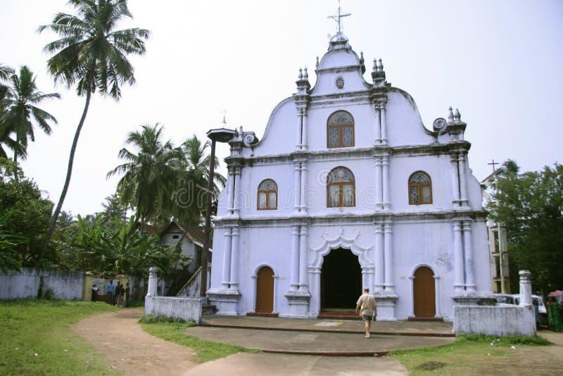 Vieille église en Inde images stock