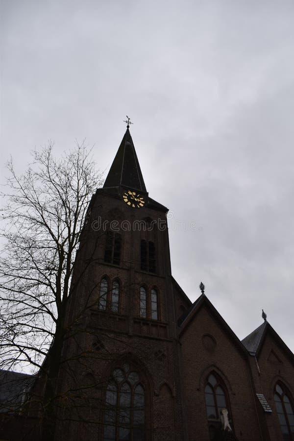 Vieille église hollandaise images stock