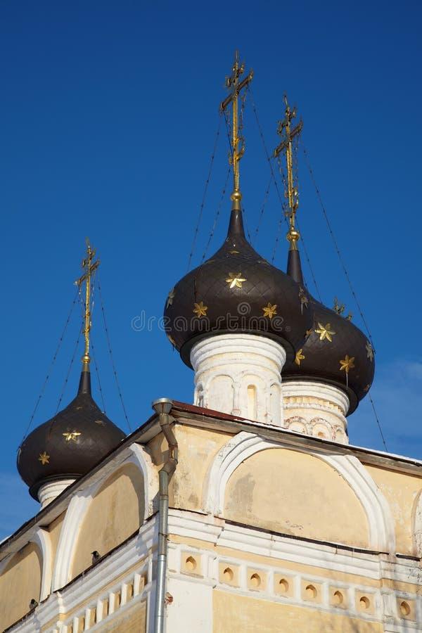 Vieille église orthodoxe dans Vologda, Russie photo libre de droits