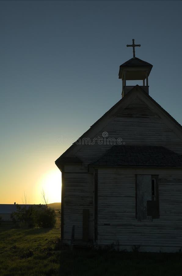 Vieille église rurale photos libres de droits