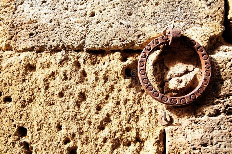 Vieille accolade de mur image libre de droits