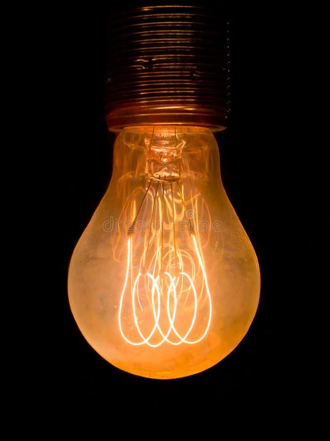 Vieille ampoule poussiéreuse images stock